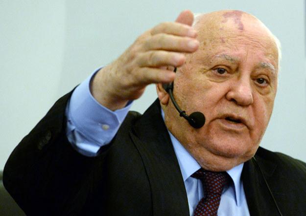 Michaił Gorbaczow publicznie poparł zbrojną aneksję Krymu przez Rosję /AFP