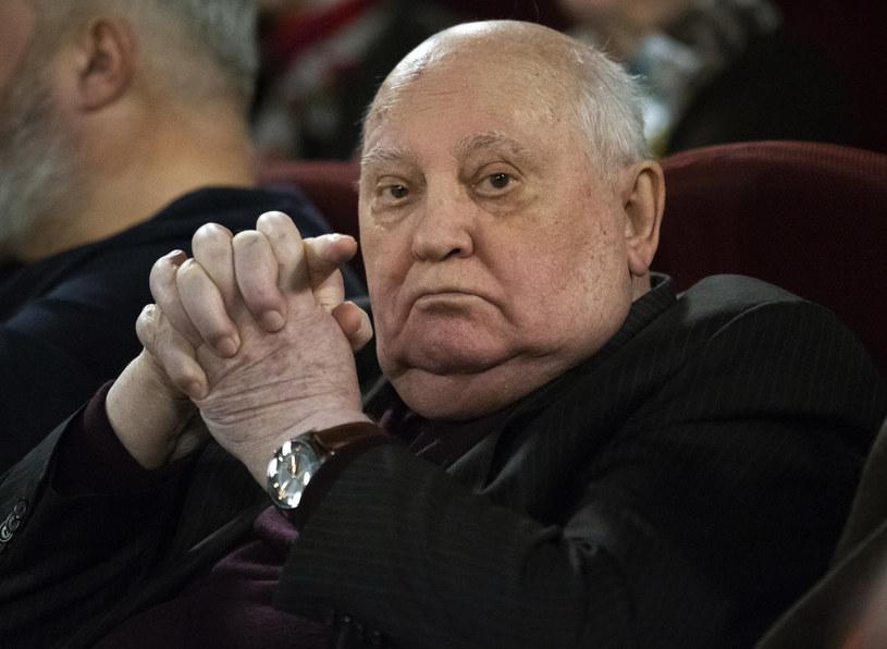Michaił Gorbaczow /AP /East News