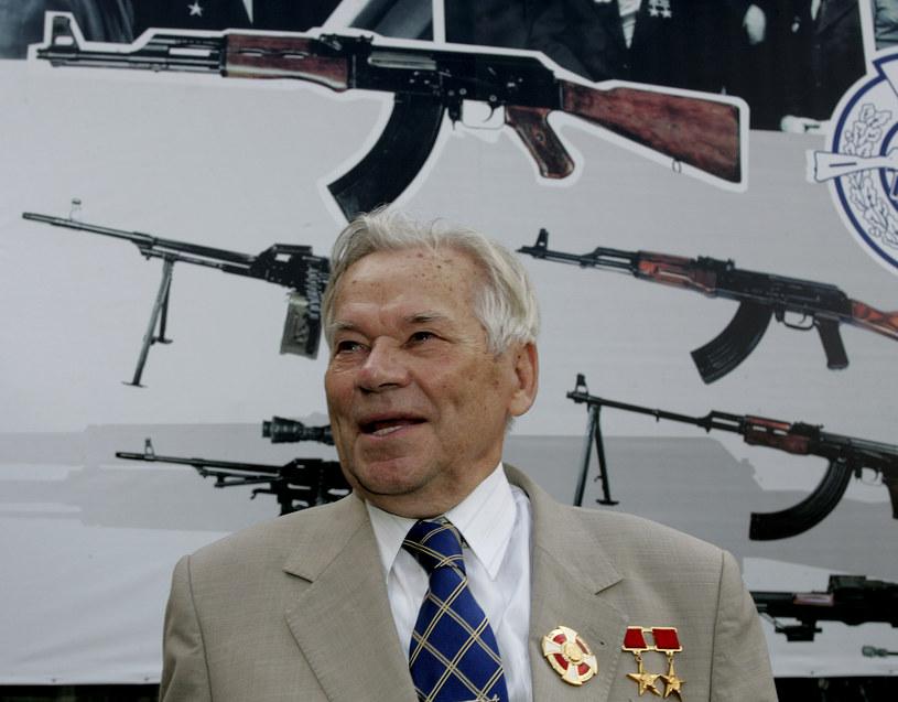 Michaił Kałasznikow na zdjęciu z 2007 roku /MAXIM MARMUR /AFP
