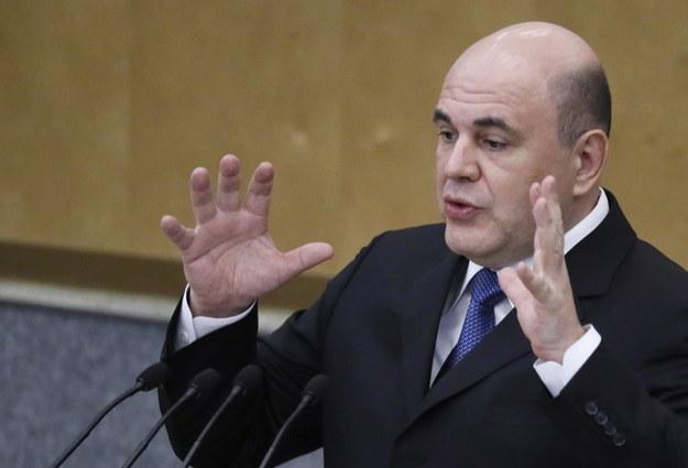 Michaił Miszustin będzie nowym premierem Rosji /YURI KOCHETKOV /PAP/EPA