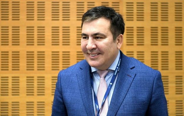Michail Saakaszwili został aresztowany /Micheil Saakaszwili /PAP/EPA