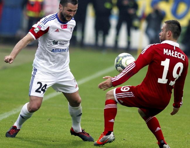 Michał Bemben (z lewej) /Andrzej Grygiel /PAP