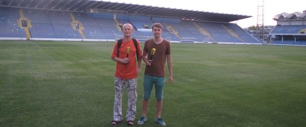 Michał Białoński i Maciej Jermakow  /Maciej Jermakow /RMF FM