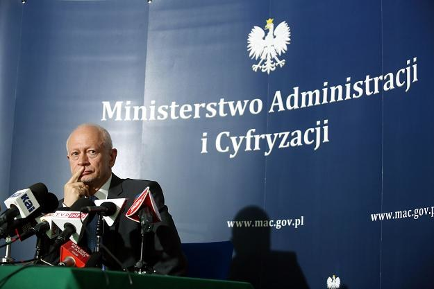 Michał Boni, minister administracji /IAR/PAP