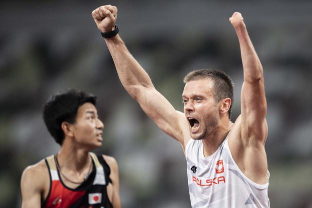 Michał Derus after the 100m / ENNIO LEANZA / PAP / EPA