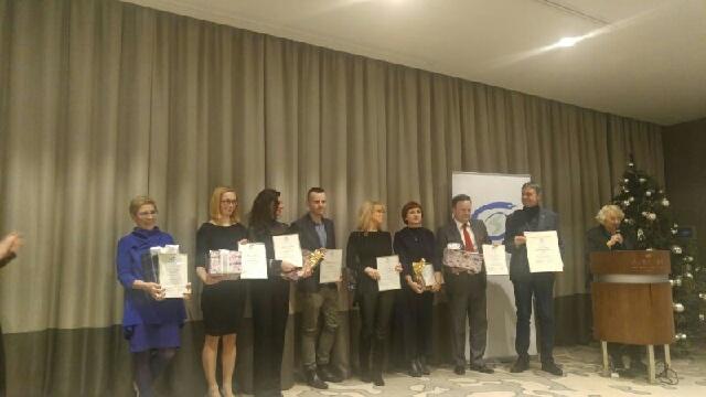 Michał Dobrołowicz i Ewa Kwaśny wyróżnieni prestiżową nagrodą dla dziennikarzy medycznych! /RMF FM /RMF FM