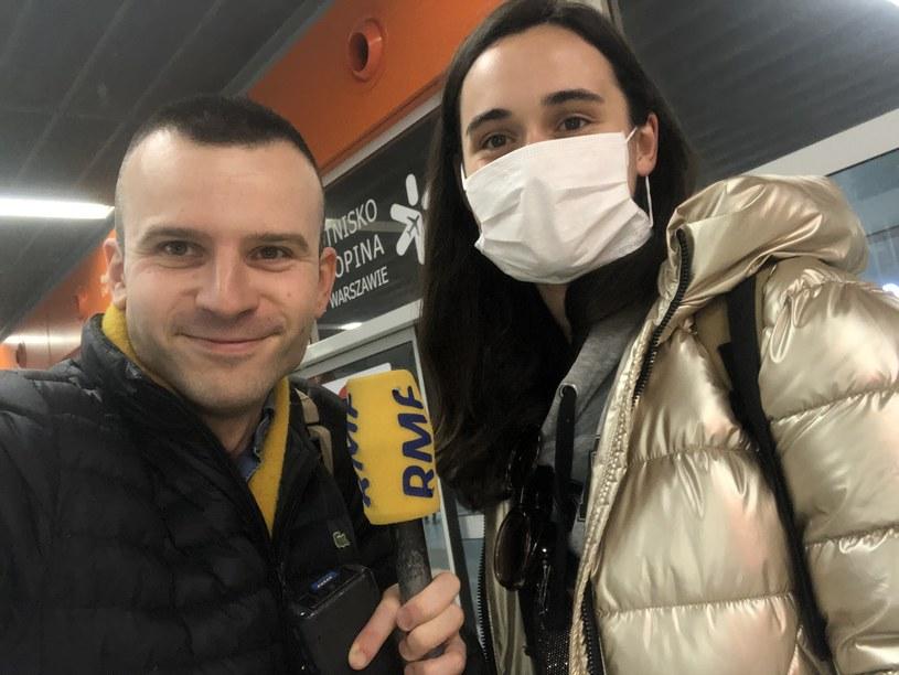 Michał Dobrołowicz rozmawiał ze studentką (pragnie pozostać anonimowa) z Polski, która wróciła właśnie z Mediolanu /Michał Dobrołowicz /RMF FM