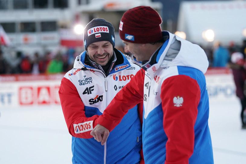 Michal Doleżal (z lewej) i Stefan Horngacher /Tomasz Markowski /Newspix