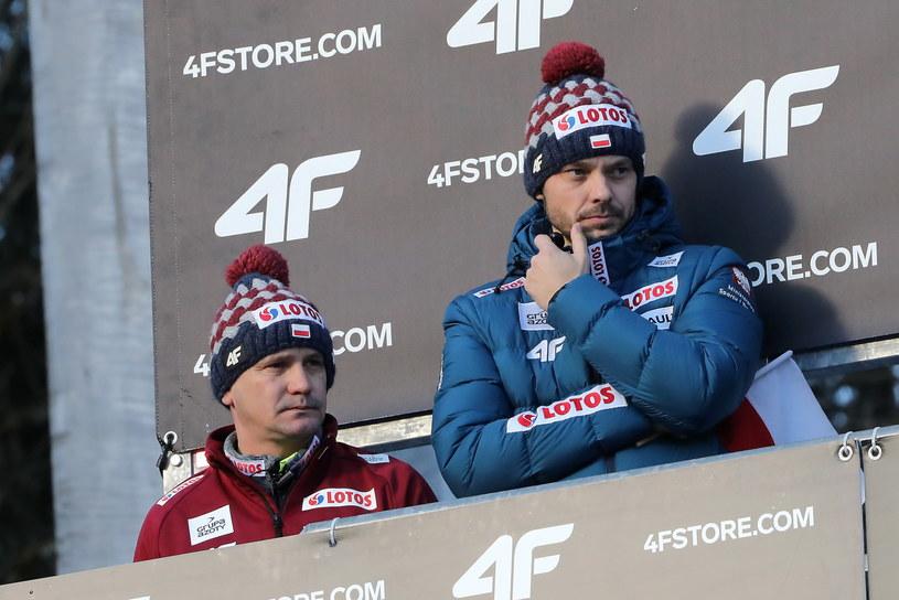 Michal Doleżal (z prawej) i Grzegorz Sobczyk / Grzegorz Momot    /PAP