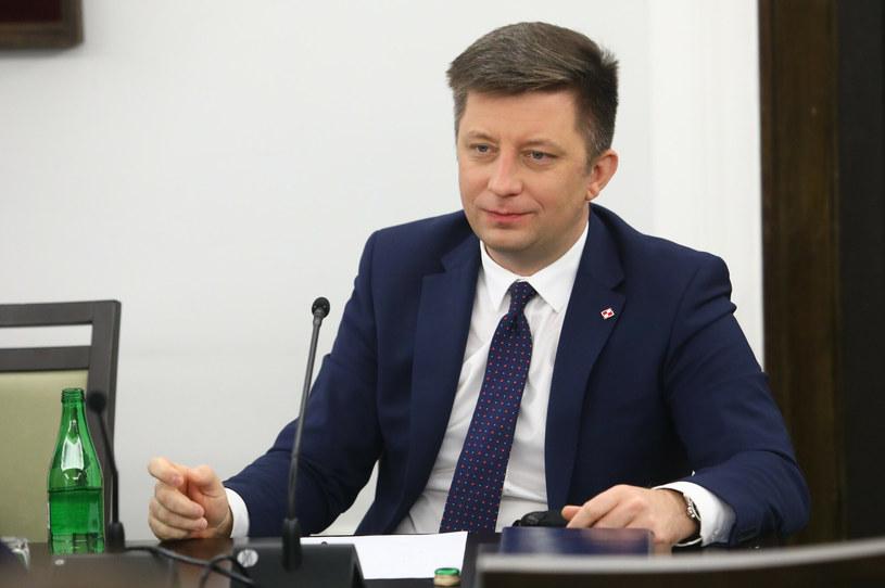 Michał Dworczyk, członek Rady Ministrów, szef Kancelarii Prezesa Rady Ministrów /Tomasz Jastrzębowski /Reporter