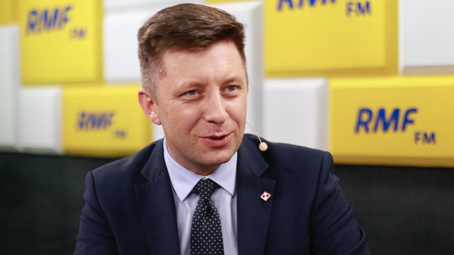 Michał Dworczyk: Liczę na to, że wyborcy doceniają to, co PiS od trzech lat robi. /Michał Dukaczewski /RMF FM