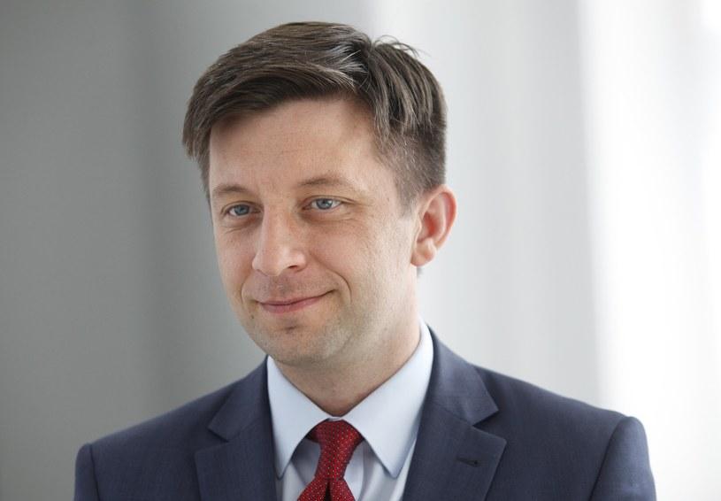 Michał Dworczyk (PiS): Wydarzenia w Polsce wpisują się w scenariusz pisany w Moskwie /Stefan Maszewski /Reporter