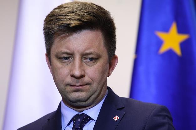 Michał Dworczyk, szef kancelarii premiera /FORUM