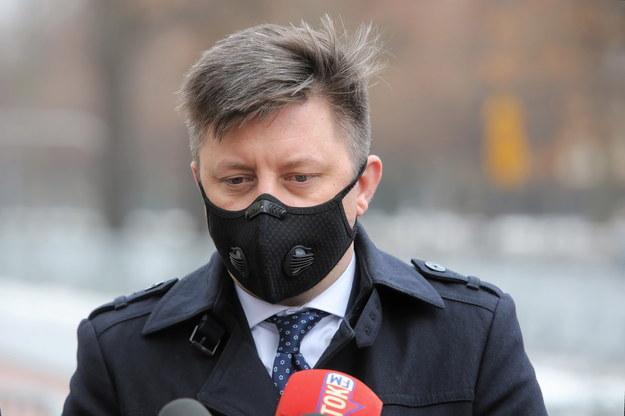 Michał Dworczyk - szef KPRM i pełnomocnik rządu ds. szczepień /Wojciech Olkuśnik /PAP