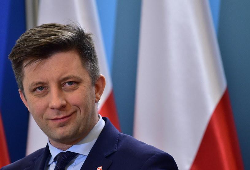Michał  Dworczyk, szef KPRM /Bartek Syta /Getty Images