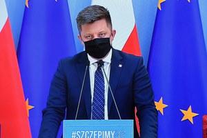 Michał Dworczyk tłumaczy zamieszanie z rejestracją na szczepienia
