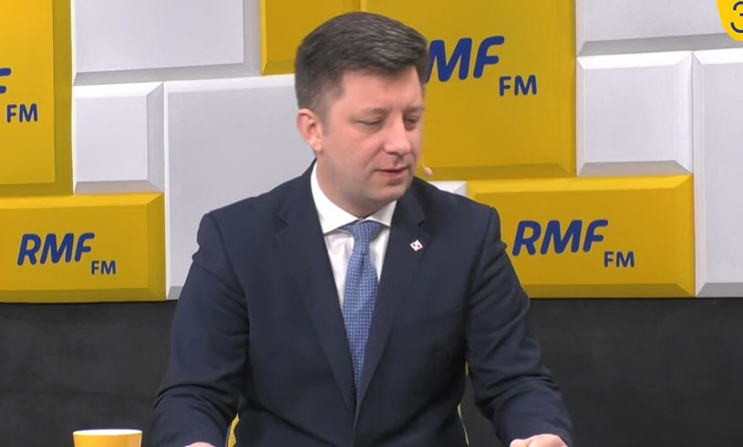 Michał Dworczyk w RMF /RMF