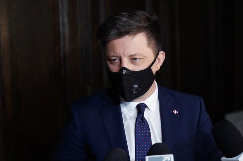 Michał Dworczyk: Zapewne w piątek premier przedstawi informacje w sprawie obostrzeń /Mateusz Włodarczyk /Agencja FORUM
