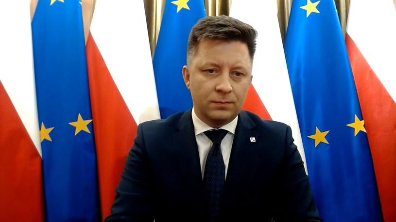 Michał Dworczyk /Screen z Polsat News /Polsat News