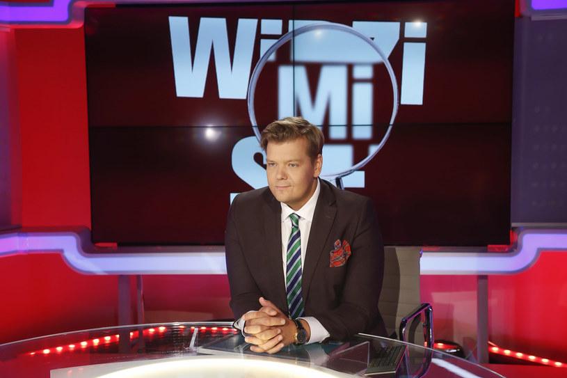 Michał Figurski prowadzi swój program w telewizji Polsat 2 News /Michał Baranowski /AKPA