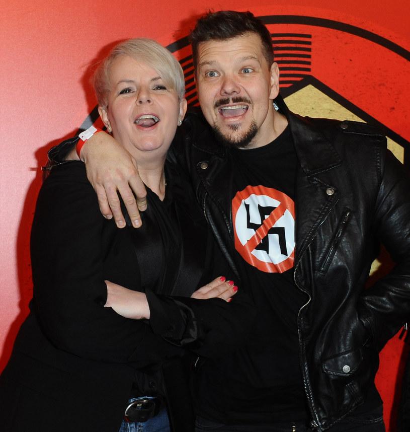Michał Figurski z koleżanką /Piotr Andrzejczak /MWMedia