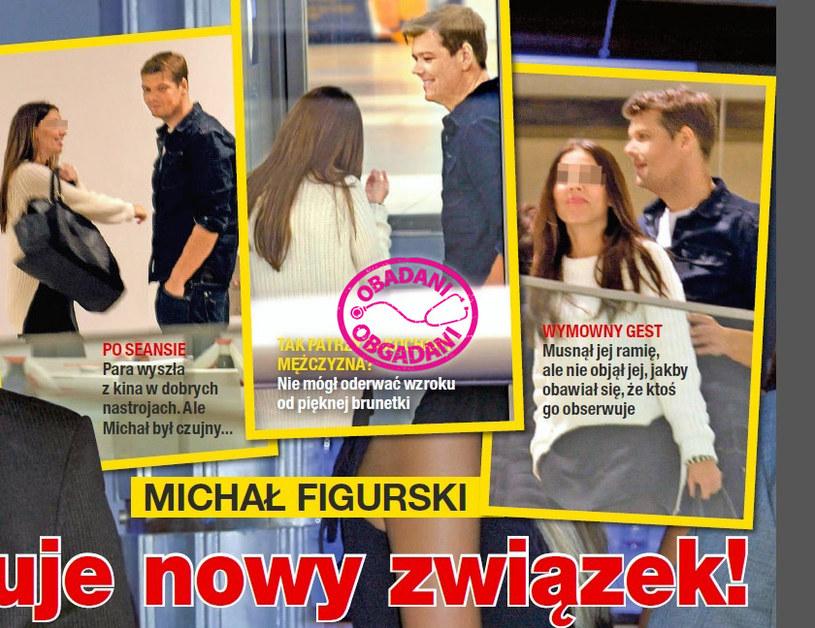 Michał Figurski z nową partnerką? /Na żywo