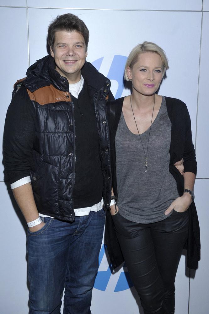 Michał Figurski z żoną Odetą /Kurnikowski /AKPA