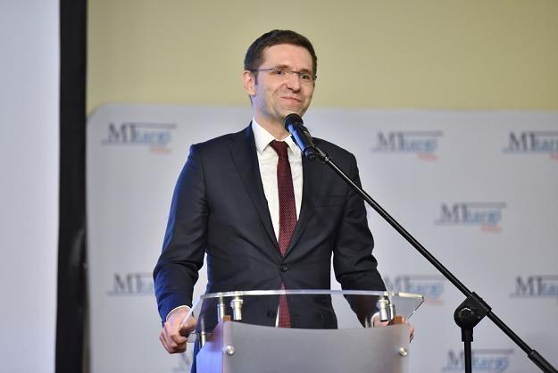 Michał Fijoł, wiceprezes PLL LOT /PAP