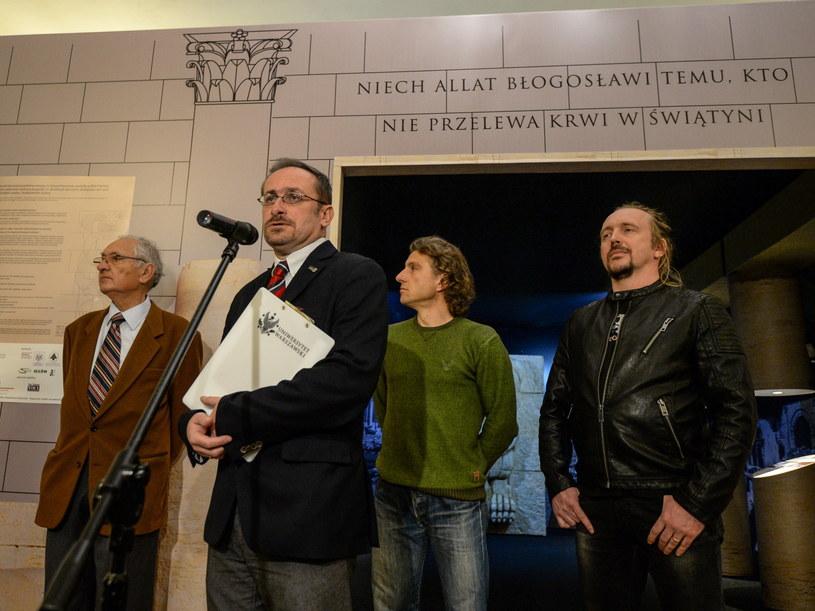 Michał Gawlikowski, Tomasz Waliszewski, Bartosz Markowski i Robert Żukowski /Marcin Obara /PAP