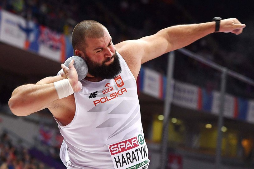 Michał Haratyk jest w formie. /AFP