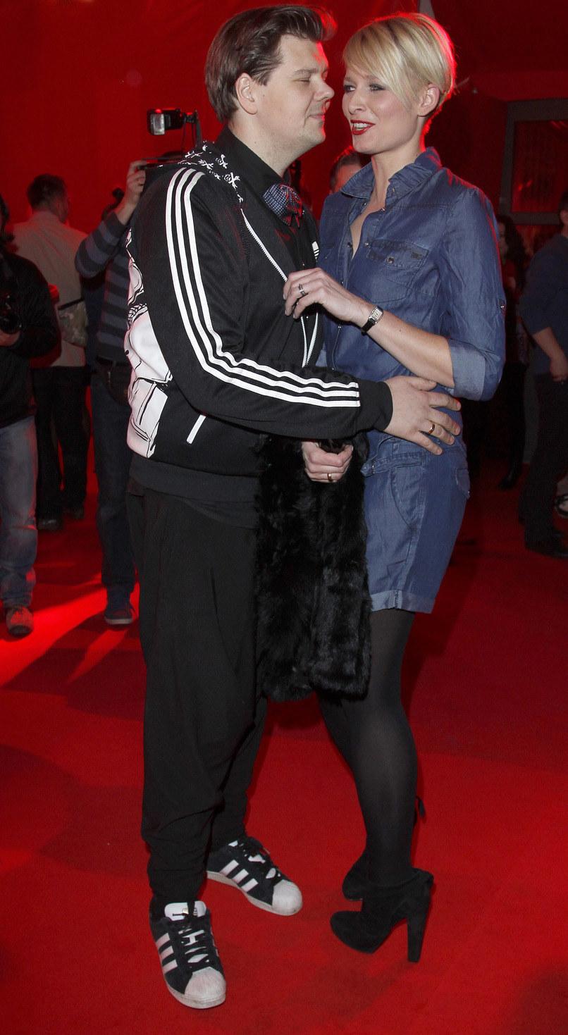 Michał i Odeta byli bardzo zgraną parą /Engelbrecht /AKPA