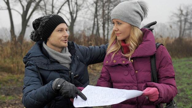 Michał i Zyta pokłócą się o pieniądze i dawną kochankę Chojnickiego - Sandrę Stec. /Agencja W. Impact