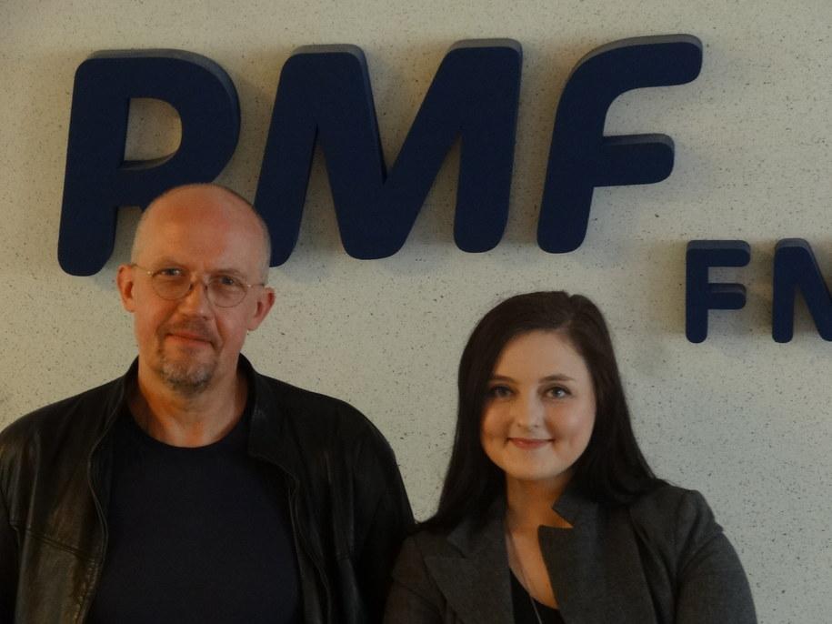 Michał Jasieński i Magdalena Klimek /Grzegorz Jasiński /RMF FM