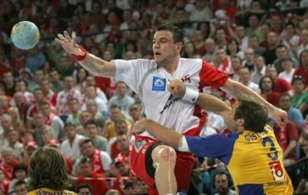 Michał Jurecki, fot: Krystyna Paczkowska /Agencja Przegląd Sportowy