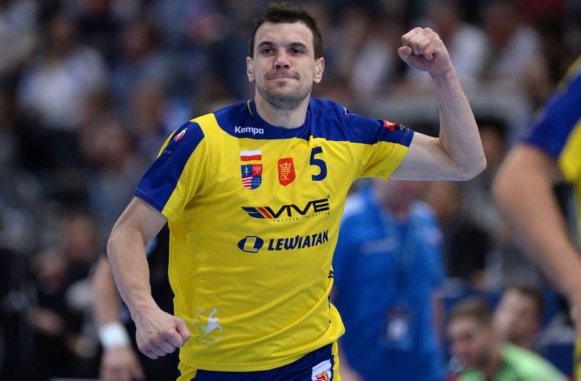 Michał Jurecki wywalczył z drużyną Vive Targów Kielce trzecie miejsce w Lidze Mistrzów /AFP
