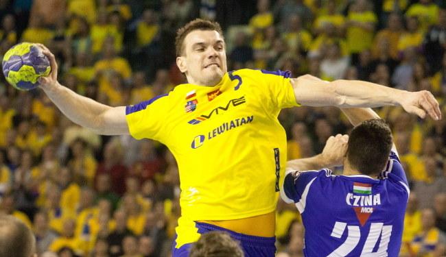 Michał Jurecki z Vive Targów Kielce /Michał Walczak /PAP