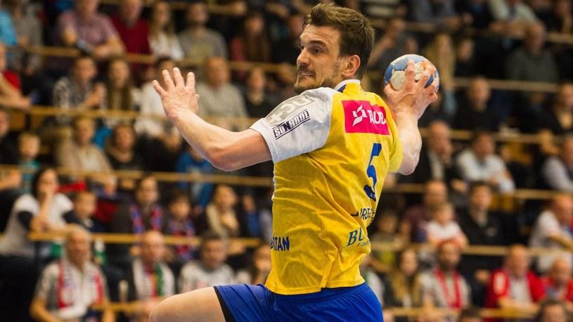 Michał Jurecki z Vive Tauron Kielce /Newspix