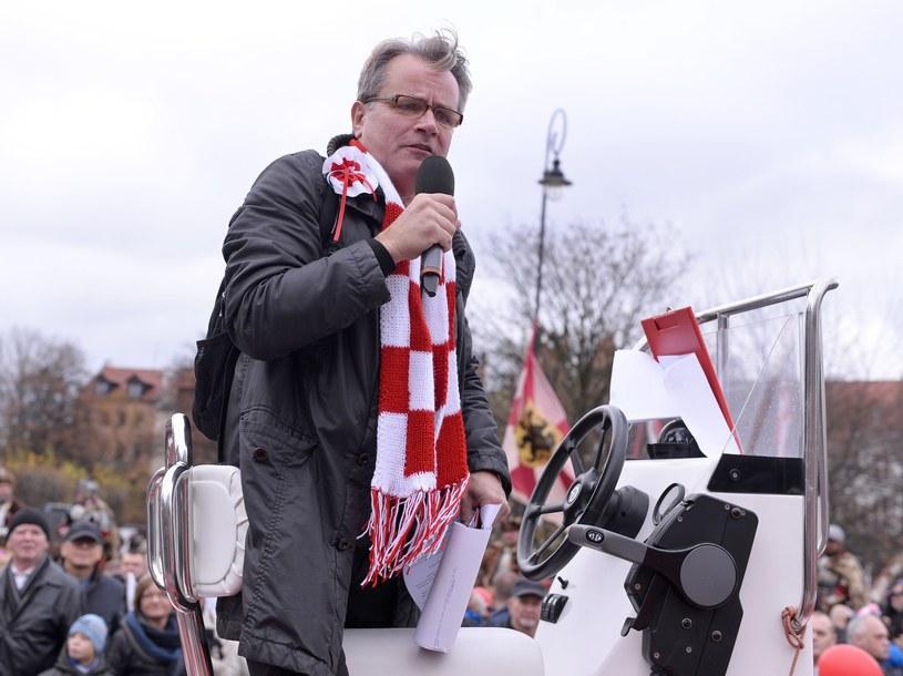 Michał Juszczakiewicz w 2015 roku /Przemysław Świderski /East News
