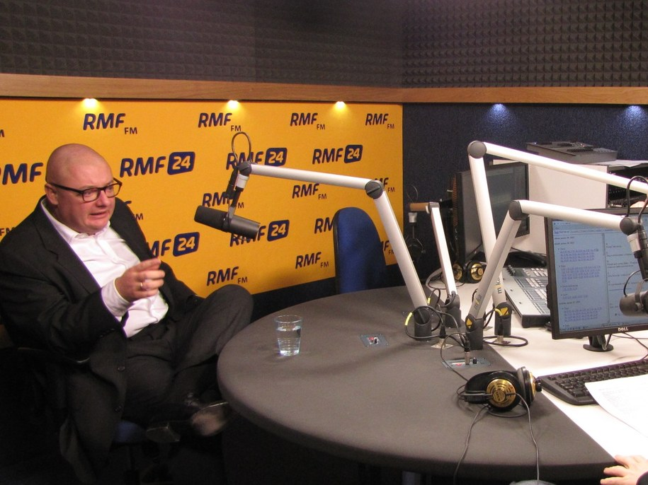 Michał Kamiński był gościem Kontrwywiadu RMF FM /Wasilewska Olga /RMF FM