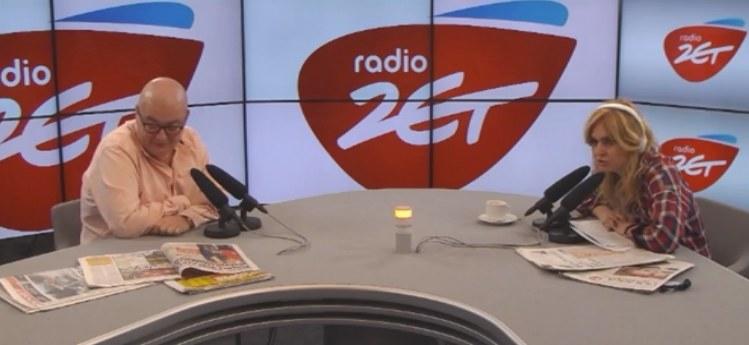 Michał Kamiński i Monika Olejnik, Fot: Radio Zet /