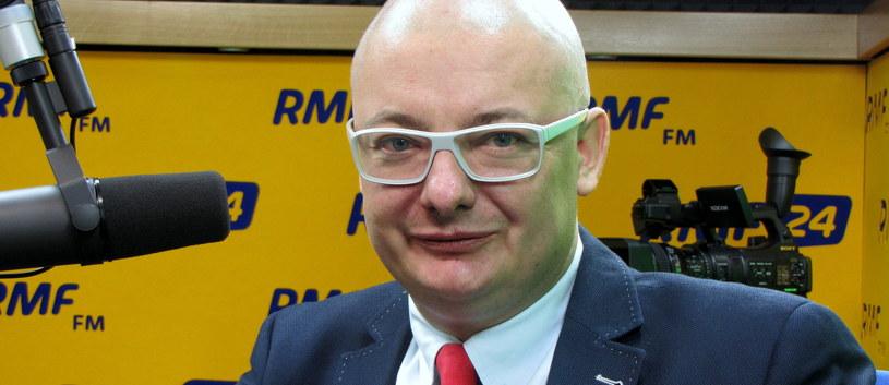 Michał Kamiński /Kamil Młodawski /RMF FM