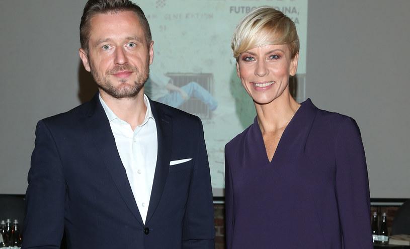 Michał Kołodziejczyk i Anita Werner /Paweł Wrzecion /MWMedia