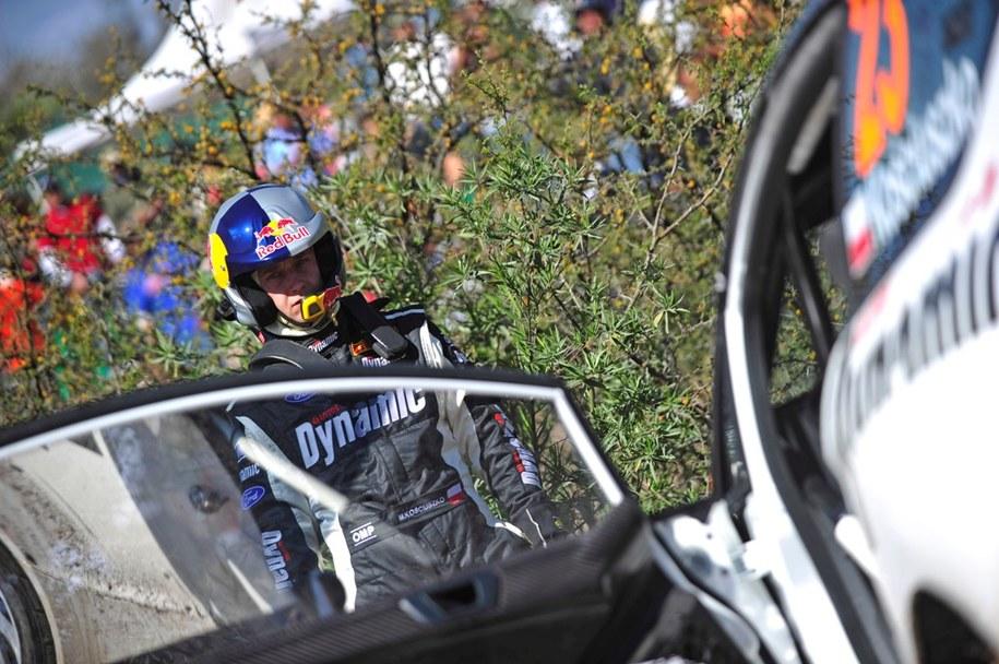 Michał Kościuszko na Rajdzie Meksyku  /Dynamic World Rally Team
