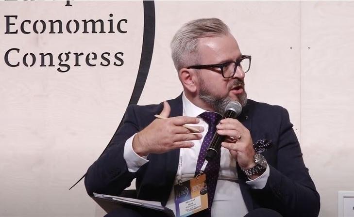 Michał Kot, dyrektor sprzedaży Digital Industries Siemens. /INTERIA.PL