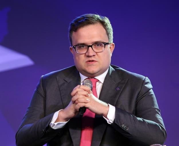 Michał Krupiński - prezes PZU. Fot. Artur Barbarowski /East News