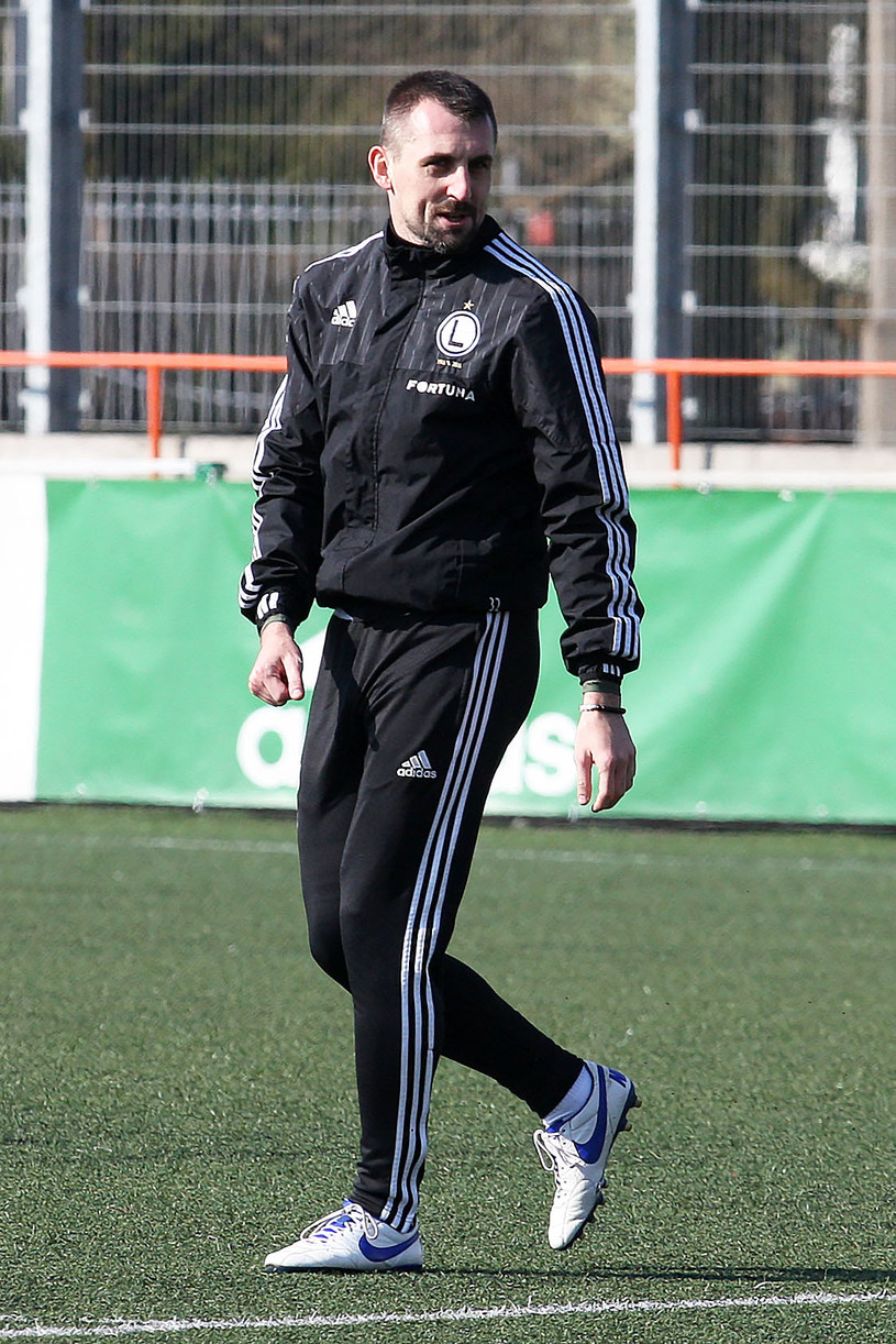 Michał Kucharczyk trenuje z drugą drużyną Legii /Marcin Szymczyk /Newspix