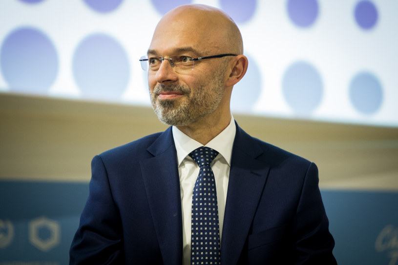 Michal Kurtyka, minister klimatu i środowiska /Sadak Souici / Le Pictorium /East News