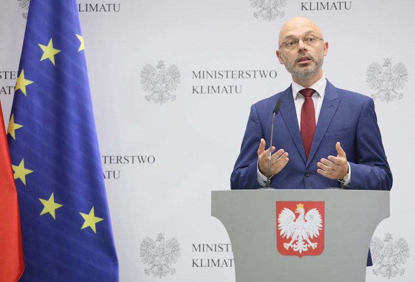Michał Kurtyka, minister klimatu i środowiska. /East News