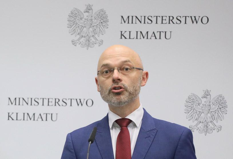 Michał Kurtyka, minister klimatu i środowiska / Jakub Kamiński    /East News