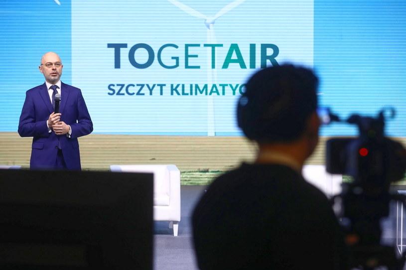 Michał Kurtyka, minister klimatu i środowiska. /Rafał Guz /PAP